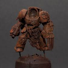 the brush brothers space wolves wolf guard terminator step by step part one painting tutorialspainting tipswarhammer 40k miniatureswarhammer