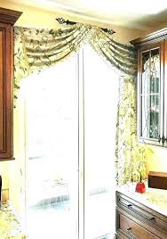 patio curtains ideas decoration sliding glass door curtain doors best window treatments for with kitchen c