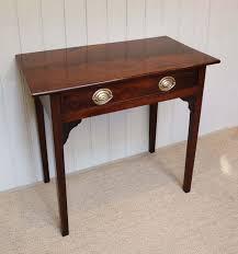 regency solid mahogany side table
