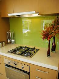 fluorescent under cabinet lighting kitchen. Lime Green Kitchen With Glass Backsplash And Mini Stovetop Also Fluorescent Under Cabinet Lights Lighting S