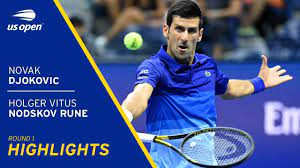 Novak Djokovic vs Holger Vitus Nodskov ...