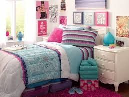 Lighting For Teenage Bedroom Captivating Pottery Barn Teen Girls Room Blue And Pink Cotton