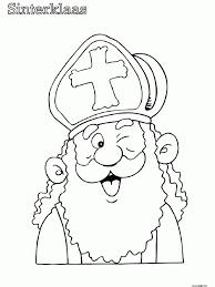 Kleurplaten Van Sinterklaas Voor Peuters Norskiinfo