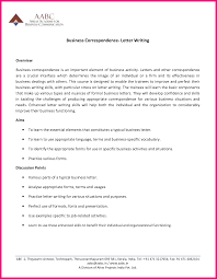 13 Business Correspondence Letter Format