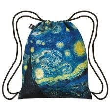 <b>Van Gogh</b> Starry Night <b>Drawstring Backpack</b> | Shop.PBS.org