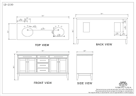 Double Sink Size Double Vanity Size Double Sink Size Bathroom Best How Tall Is A Bathroom Vanity