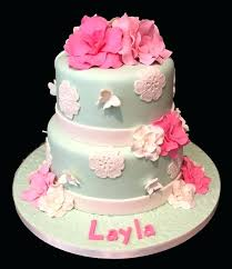 Fresh Cakes Pictures Gallery And Pretty Pink Blossom Custom Birthday