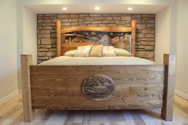 Image of: headboard-for-king-size-bed-rustic
