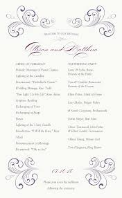 Wedding Program Inclusions Wedding Program Inclusions Sample Ideas 8