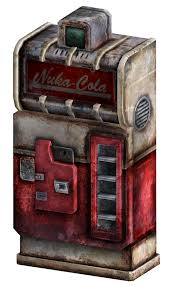 Nuka Cola Vending Machine Delectable NukaCola Vending Machine The Vault Fallout Wiki Fallout 48