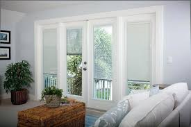 patio doors with blinds pros and cons of blinds between glass panes through the front door