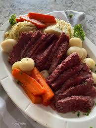quick instant pot corned beef cabbage