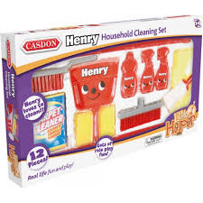 casdon henry hoover household cleaning set