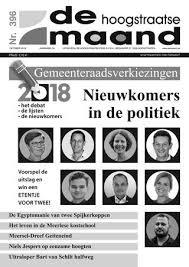 November 2018 De Hoogstraatse Maand By De Hoogstraatse Maand