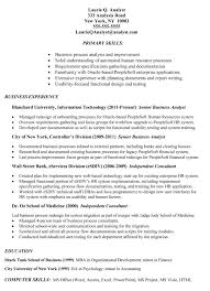 Example Of Business Analyst Resumes Http Topresume Info 2014 11