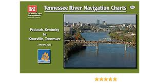 Tennessee River Navigation Charts Tennessee River Navigation Charts Paducah Kentucky To Knoxville Tennessee