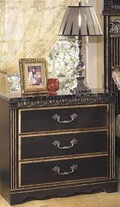 Ashley Coal Creek B175 King Size Mansion Bedroom Set 3pcs in Dark ...