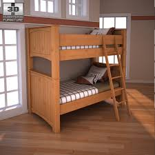Ashley Stages Bunk Bedroom Set by humster3d