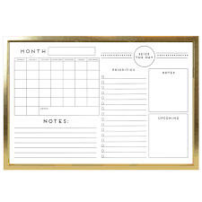 Memo Board Michaels Buy the Gold Framed Calendar Memo Board By Ashland® at Michaels 1