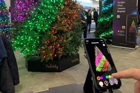 Twinkly Smart Christmas Tree Lights Ledworkss Animated Twinkly Led String Lights Are About To
