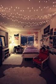 teenage girl bedroom decors with light