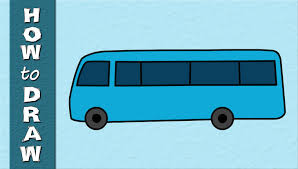 bus drawing for kids. Delighful Kids YouTube Premium To Bus Drawing For Kids
