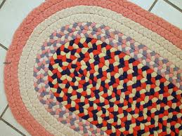 handmade vintage american braided rug 1930s previous next