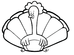 Turkey Coloring Pictures Thanksgiving Turkey Coloring Page Printable