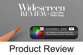 widescreen reviews doug blackburn evaluates the ezframe cinegrey 5d series alr projection screen