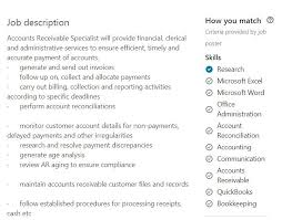 Accounts PayableReceivable Resume Samples [40 APAR Examples] Gorgeous Accounts Receivable Resume