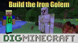 How To Build An Iron Golem In Minecraft