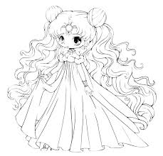 Cute Anime Coloring Pages Cute Anime Girl Coloring Pages Cute Anime