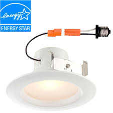 Easy Recessed Lighting Envirolite Easy Up 6 In Warm White Led Recessed Light With 93 Cri