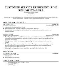 Free Customer Service Resume Templates Best Customer Service Resume Template Customer Service Representative