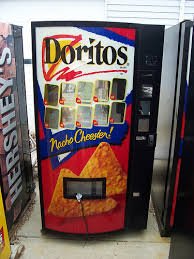 Chip Vending Machine Simple Doritos Vending Machine