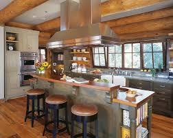 Rustic Cabin Kitchen Cabinets Log Cabin Kitchen Cabinets Log Home Kitchen Cabinet Ideas Rustic