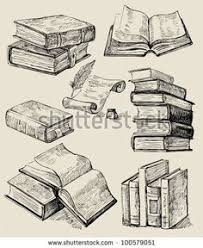2018 trend tiny tattoo idea books stack stock vector 100579051 shutterstock