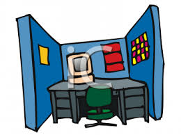 office cubicle clipart. Interesting Clipart For Office Cubicle Clipart F