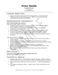 quality control resume. Qa Manager Resume Quality Assurance Safety Cv Job Description Within