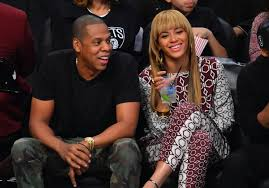 jay z and beyonce knowles attend brooklyn nets game at barclays center beyonce baby nursery