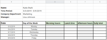 timesheet calculator spreadsheet how to create a simple excel timesheet clockify