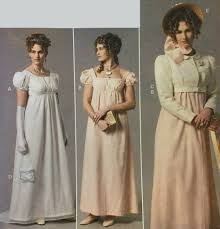 Regency Dress Pattern