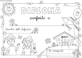 Diplomi Per Bambini Da Stampare E Colorare Colorare