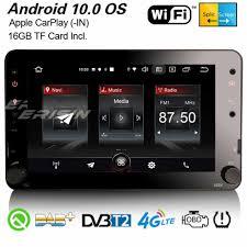 Erisin 2720 3 UI Android 10.0 DAB + GPS WiFi CarPlay Dàn Âm Thanh Xe Hơi  TPMS Bluetooth Đầu Ghi Hình Navi Cho Alfa Romeo 159 sportwagon Brera  Nhện