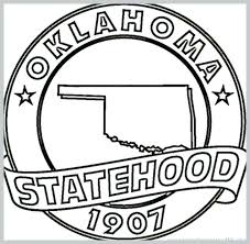 Oklahoma State University Coloring Pages State Coloring Pages