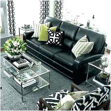 fresh style living room ideas with black leather sofa pillows for couch throw pillow how to