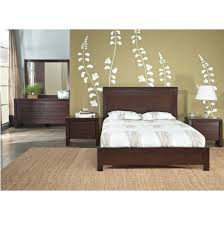 Teak Wood Bedroom Furniture Buy Teak Wood Bed With High Headrest Chaumont Online In India