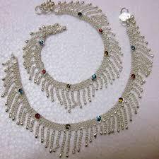 Paijan Design For Baby Silver Payal Designs Arya Beautiful Design Silver Plated