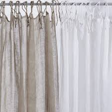 natural or white linen curtains living room curtains steel doors