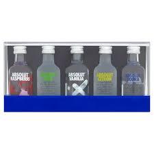 absolut vodka gift set